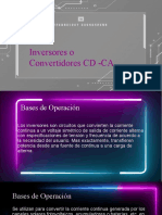 Inversores o cicloconvertidores CD - CA