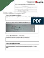 Evaluación Formativa 01 fundamentos de electricidad 2020