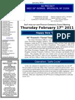 66 Newsletter January 2011