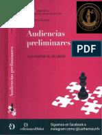 Audiencias Preliminares - Alejandra m. Alliaud