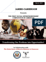 Harambe-Cameroon - Elevator Pitch Contest - REPORT