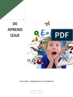 taller trastorno del aprendisaje de 4 a 17 años