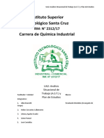 UA2 - Análisis Situacional de Trabajo y Plan de Estudios