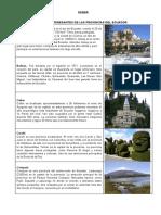 Datos Interesantes Provincias Ecuador