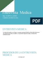 Entrevista  Medica