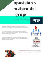 Composición y estructura del grupo FINAL