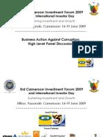 3rd Cameroon Investment Forum 2009_Holding Slidesj