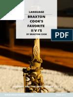 Braxton Cook ii-V-I