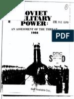 Soviet Military Power 1988