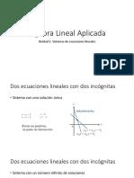 unidad 2 sistemas ecuaciones lineales