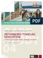 Rethinking Tokelau Education
