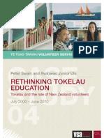Rethinking Tokelau Education