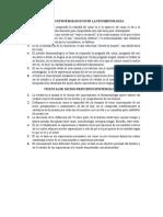 PRINCIPIOS EPISTEMOLOGICOS DE LA FENOMENOLOGIA