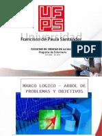 MARCO LOGICO - ARBOL DE PROBLEMAS