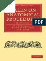 Galen on Anatomical procedures.pdf