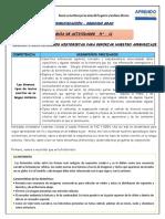 GUIA DE ACTIVIDAD N° 11- FORMA 1-LEEMOS HISTORIETAS enviar..