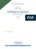 Las Exportaciones Trabajo Final