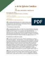 El Sacramento del Matrimonio en el Catecismo de la Iglesia Católica.doc