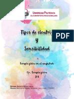TIPOS DE CICATRIZ Y SENSIBILIDAD