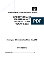 Three Phase A Synchronous Motor