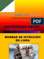 TEMA 6 BOMBA DE INYECCION EN LINEA