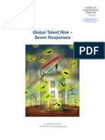 PS WEF Global Talent Risk Report 2011