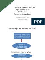 Semiología del sistema nervioso parte 1 [Recuperado]