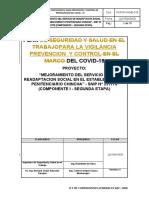 PLAN PARA LA VIGILANCIA PREVENCION  Y CONTROL DEL COVID-19