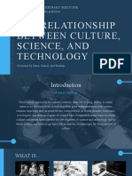 science technlogy and culture