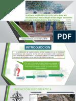 Agricultura Urbana Sostenible de Ciclo Corto Para Eje