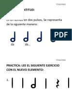GRAMATICA - INICIACION LECTURA MUSICAL 2