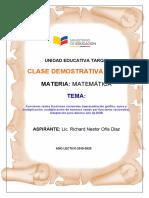 CLASE DEMOSTRATIVA RICHARD