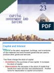 Ch 5 Capital Investment n Saving FINAL