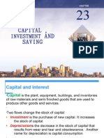 Ch 5 Capital Investment n Saving FINAL