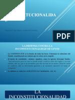 LA INCONSTITUCIONALIDAD General y Casos Concreto, Opinión Consultiva .pptx