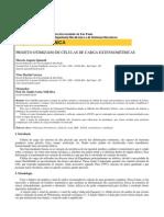 Células de carga - Projeto Otimizado. Escola Politécnica USP - Dep. Mecatrônica
