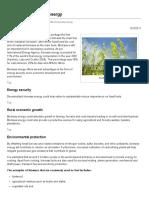 Benefits of biomass energy _ EEP