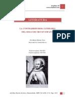 La contrarreforma literaria del siglo de oro en España.pdf