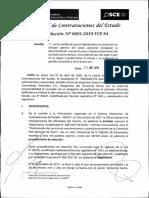 RESOLUCION N°691-2019-TCE-S4 (APLICACION SANCION)