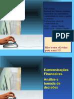 Administração financeira - Análise das demonstrações contábeis