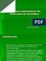 Sistemas de Deteccion de Incendios