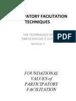 participatory facilitation techniques