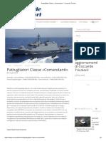 Pattugliatori Classe «Comandanti» - Coccarde Tricolori