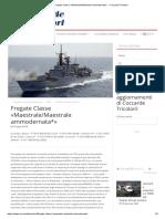 Fregate Classe «Maestrale_Maestrale ammodernata_» - Coccarde Tricolori