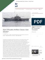 Navi d'Assalto Anfibio Classe «San Giusto» - Coccarde Tricolori