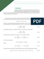 5.2 Polinomio de interpolación de Lagrange