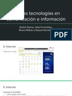 Nuevas Tecnologías en Comunicación e Información (III)