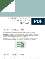 Sedimentación y tectónica de placas diapositiva geologia 6ta unidad