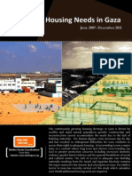 Assessing Housing Needs in Gaza 2007-2011