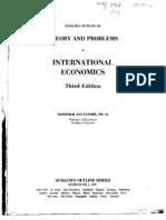 International Economics 3rd Salvatore